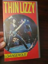Thin Lizzy Live and Dangerous   VHS Video Tape (NEW)