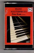 (GU524) Piano Masterpieces, Peter Katin (Piano) - Cassette Tape