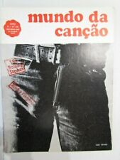 Portuguese vintage magazine cover Rolling Stones Sticky Fingers  year 1971