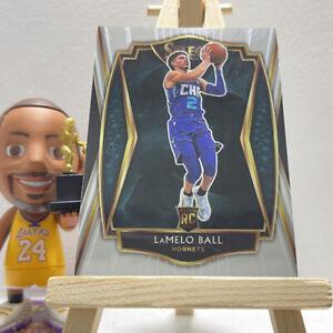 Rookie Premier Level 2020-21 Panini Select LaMelo Ball NBA Hornets RC Card 183