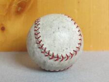 Vintage White Leather Baseball Red Stitching Great Condition Great Display Ball!