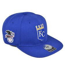 Kansas City Royals '47 Brand Sure Shot Adjustable Snapback Hat - Blue