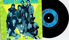"SHOWADDYWADDY - FOOTSTEPS - 7"" 45 VINYL RECORD w PICT SLV - 1981"