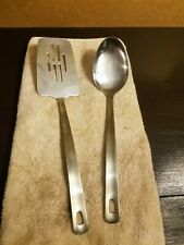 Farberware Stainless steel Serving Spoon and  Slotted Turner 13""