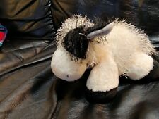 Webkinz Lil'Kinz Cow Plushie Hm003 by Ganz, white and black, 7 inch