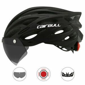 CAIRBULL MTB Fahrradhelm Mountain Road Fahrradhelm Objektiv +Krempe Rücklicht DE