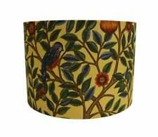 UK Handmade Lamp/Celing Shades In William Morris Fabric Kelmscott Tree Wine/Woad