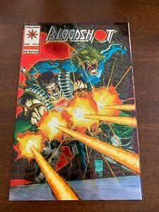 Bloodshot #0 (Mar 1994, Valiant) Origin story NM+