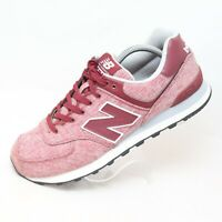 New Balance 574 Classics Men's Sz 9.5 D Burgundy Running Sneakers Shoes ML574TXG