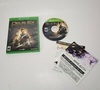 Deus Ex: Mankind Divided -- Day One Edition (Microsoft Xbox One, 2016) NO BOOK