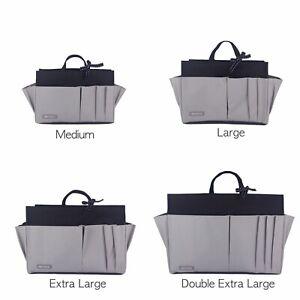 NEW Myliora Bag Liner Purse Organiser, Sturdy Waterproof, Black Grey, M-XXL