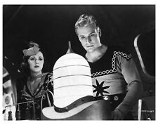 FLASH GORDON CONQUERS THE UNIVERSE still BUSTER CRABBE & CAROL HUGHES -- (b789)