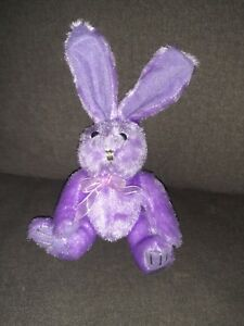 Dan Dee Purple Bunny Rabbit Plush