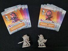 Arcadia Quest Inferno Kickstarter Exclusive Villains Demoness & Demon Captain