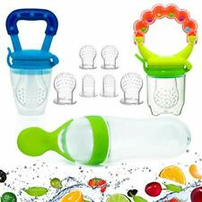 Baby Food Feeder Pacifier Fruit- Fresh Silicone Bottle Squeeze Spoon Fruit