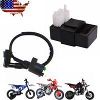 Ignition Coil 6 Pin CDI Box Set For ATV Quad 150cc 200cc 250cc Dirt Pit Bike US