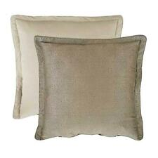 ROSE TREE Argento Collection Euro Pillow Sham , 26 * 26 in. (Gold Khaki) NEW