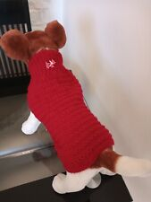 Handmade Knitted Dog Jumper