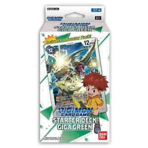 Digimon TCG Starter Deck Giga Green Starter Deck - Brand New - Factory Sealed