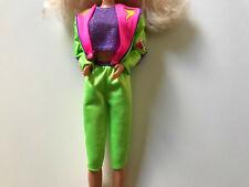 Barbie 90s neon outfit (Barbie Mattel)