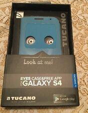 Genuine Tucano Samsung Galaxy S4 Eyes Case - Mood - BLUE