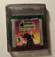 Nintendo Game Boy Color ROSWELL CONSPIRACIES - Tested - No Box/Manual