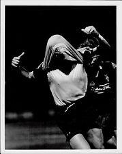 1995 RAVANELLI ESULTANZA foto originale finale coppa italia Parma-Juventus 0-2