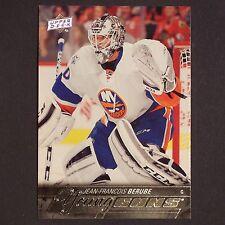 JEAN-FRANCOIS BERUBE RC  2015/16 UD Young Guns #242 New York Islanders YG Rookie