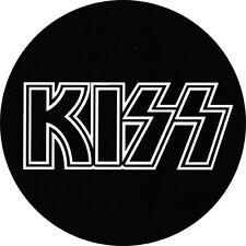 IMAN/MAGNET KISS . gene simmons paul stanley ace frehley peter criss hard glam