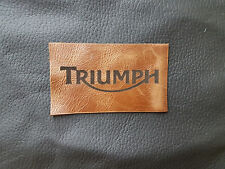 Triumph  motorcycle jacket patch