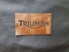 Parche De Chaqueta De Motocicleta Triumph