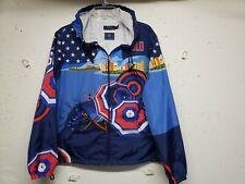 Polo Ralph Lauren Rio Stadium Jacket USA Olympic Windbreaker RL CP93 Women's XL