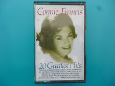 """CONNIE FRANCIS  """" CONNIE FRANCIS - 20 GREATEST HITS """"  CASSETTE"""