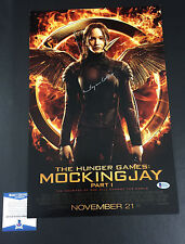 SUZANNE COLLINS SIGNED AUTO 12X18 PHOTO THE HUNGER GAMES MOCKINGJAY BECKETT COA
