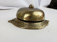 Nice antique brass door bell (assumed in working condition)