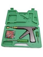 Set Tire Plugger Tubeless Tire Wheel Repair Gun Kit With Plugs Rubber Plugging