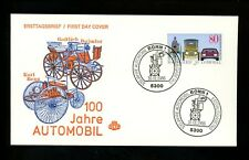 Postal History Germany Fdc #1453 Automobile car auto centennial 1986