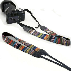 Vintage DSLR SLR Camera Shoulder Neck Strap Belt for Sony Canon Nikon Pentax UK