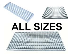 Floor Forge Walkway Steel Galvanised Grating - Multi Variations - ALL SIZES
