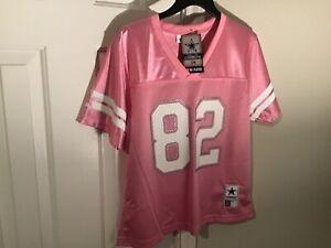 Jason Witten Dallas Cowboys Jersey #82 NFL Authentic Apparel Pink Women's Large!