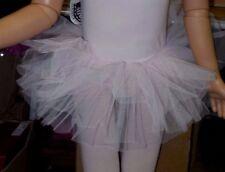 NWT Light pink net tutu Girls Ballet Ballerina ruffled dance fun Wolff Fording