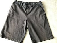 Nike Hurley Dri-Fit Striped Gray Walking Skate Shorts Men's Size 31