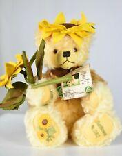Hermann Sunflower Teddy Bear Limited Edition Tagged
