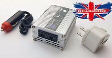 150W dc 12V to ac 220V car cigarette lighter power inverter converter usb port