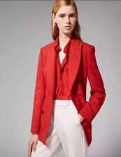 Max Mara Sartoriale Jacket, Tailored Jacket, Max Mara Red Jacket, Size 6 UK, Red