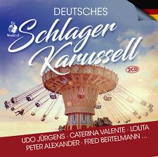 CD Deutsches Schlager Karussell von Various Artists 2CDs