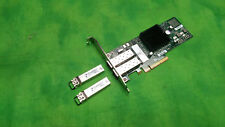 Chelsio 10GB 2-Port PCI-e Card PCI-E 110-1088-30  2x 10G SFP Tranceivers HIGH
