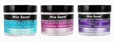 Mia Secret Acrylic Nail Powder 3D White, Pink, Clear - 2 oz Bottle -MADE IN USA
