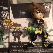 Funko Mystery Minis Kingdom Hearts 3 Sora With Tangled Keyblade Hot Topic Mini