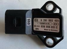 VW Passat Varinat 3C 2.0 TDI Ladedrucksensor 0281002401 038906051C *ungeprüft*